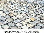 blocks of porphyry | Shutterstock . vector #496414042