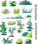 grass   Shutterstock .eps vector #496429318