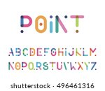 Color Font With A Point Capita...