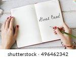 goal beat aim aspiration...   Shutterstock . vector #496462342