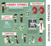 detail medical set elements and ... | Shutterstock .eps vector #496463308