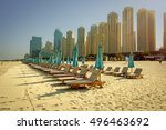 dubai  uae   october 06  2016 ... | Shutterstock . vector #496463692