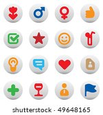 Set Of Dating And Love Icons....