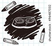 doodle dog food   Shutterstock .eps vector #496487032