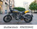 milan  italy   september 29 ... | Shutterstock . vector #496533442