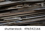 background of wood and herbs... | Shutterstock . vector #496542166