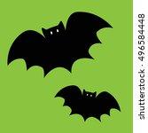 bats | Shutterstock .eps vector #496584448