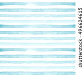 Watercolor Hand Painted Stripy...