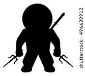 ninja | Shutterstock .eps vector #496639912