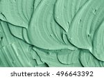 Green Cosmetic Clay Texture...