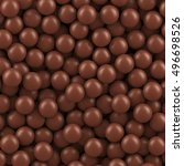 Chocolate Balls Background....