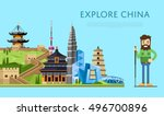 China Travel Concept With Chin...