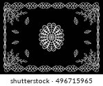 bandana print with abstract...   Shutterstock .eps vector #496715965