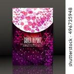template design for cover....   Shutterstock .eps vector #496735948