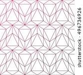 gradient background. vector... | Shutterstock .eps vector #496736926