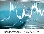 investment growth concept with... | Shutterstock . vector #496773175