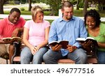 small group. study group. | Shutterstock . vector #496777516