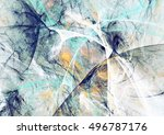 abstract beautiful blue and... | Shutterstock . vector #496787176