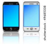 smart phones | Shutterstock .eps vector #49685338