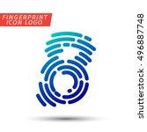 vector logo design element ... | Shutterstock .eps vector #496887748