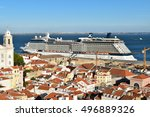 lisbon  portugal  sep 26  2016  ... | Shutterstock . vector #496889326