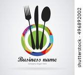Logo Restaurant. Modern Colors...