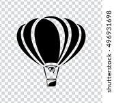 Air Balloon Vector Icon