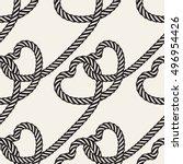 seamless pattern. stylish... | Shutterstock .eps vector #496954426
