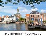 leiden  netherlands   aug 9 ... | Shutterstock . vector #496996372