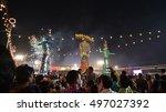 editorial  delhi india  oct... | Shutterstock . vector #497027392