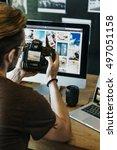 photography ideas creative... | Shutterstock . vector #497051158