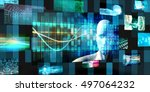 disruptive technology and... | Shutterstock . vector #497064232
