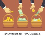 business diversification vector ...   Shutterstock .eps vector #497088016