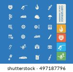 car service and repair icon... | Shutterstock .eps vector #497187796
