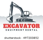 Excavator Logo Isolated On...