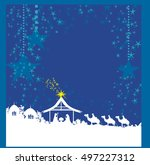 birth of jesus in bethlehem card