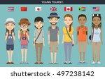 international characters....   Shutterstock .eps vector #497238142