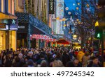 london  uk   december 30  2015  ...   Shutterstock . vector #497245342