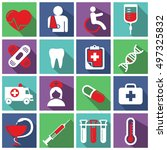 medical  health care and doctor ...   Shutterstock .eps vector #497325832