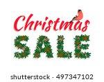 vector illustration festive... | Shutterstock .eps vector #497347102