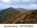 mountain landscape | Shutterstock . vector #497352862