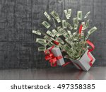 Monetary Concept. A Cash Gift...