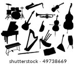 music instrument | Shutterstock .eps vector #49738669
