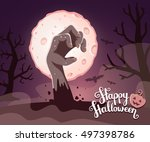 Vector Halloween Illustration...