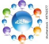 healthy | Shutterstock . vector #49743577