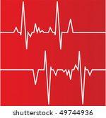heart cardiogram | Shutterstock .eps vector #49744936