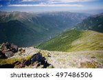 mountain bright valley with a...   Shutterstock . vector #497486506