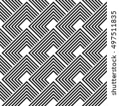 design seamless monochrome... | Shutterstock .eps vector #497511835