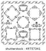 decorative elements | Shutterstock .eps vector #49757341