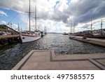 oslo norway harbor | Shutterstock . vector #497585575
